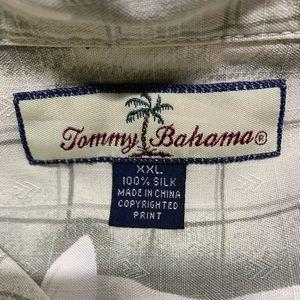 Tommy Bahama Shirts - Men's 100% Silk Tommy Bahama Button Down XXL Shirt